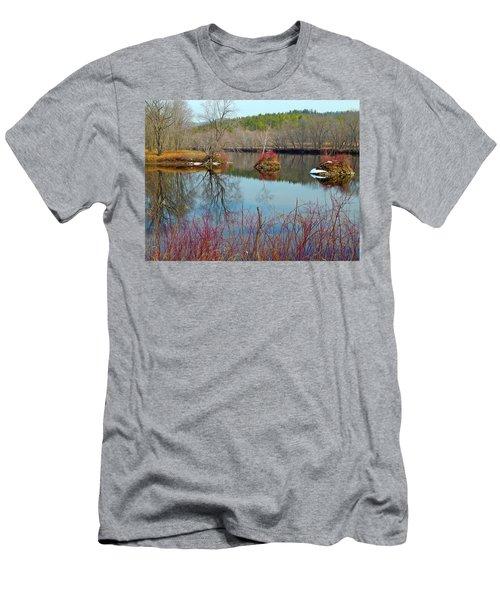 Housesitting 41 Men's T-Shirt (Slim Fit) by George Ramos