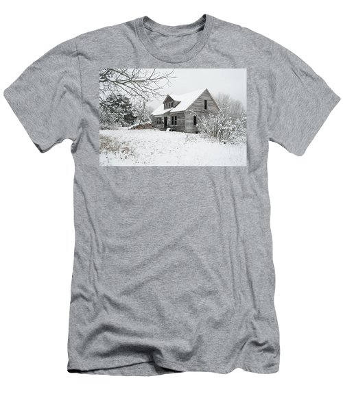 How Long Has It Been? Men's T-Shirt (Slim Fit) by Michael Peychich