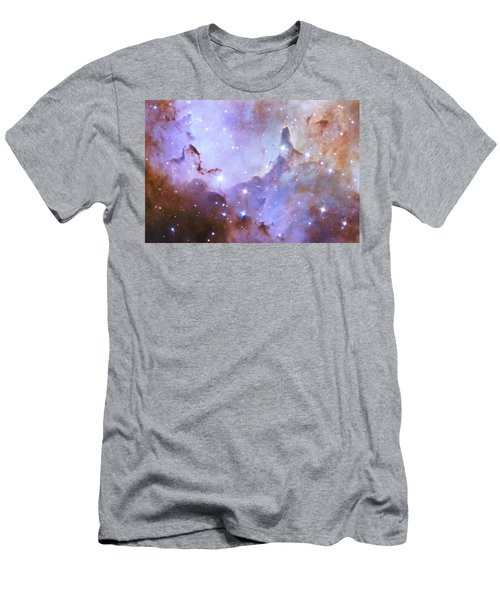 Men's T-Shirt (Slim Fit) featuring the photograph Hubble Space Telescope Celebrates 25 Years Of Unveiling The Universe by Nasa