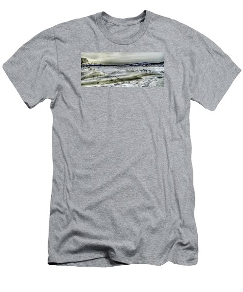 Men's T-Shirt (Slim Fit) featuring the photograph Hudson River Cold Spring, New York by Rafael Quirindongo