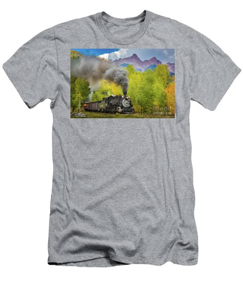 Huffing And Puffing Men's T-Shirt (Athletic Fit)