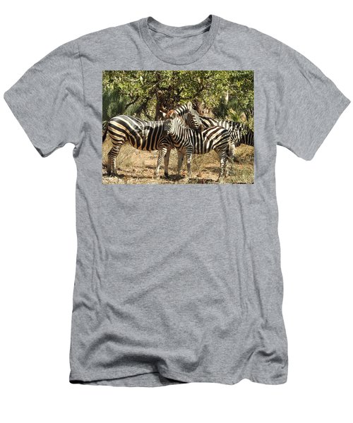 Men's T-Shirt (Slim Fit) featuring the photograph Hug Time by Betty-Anne McDonald