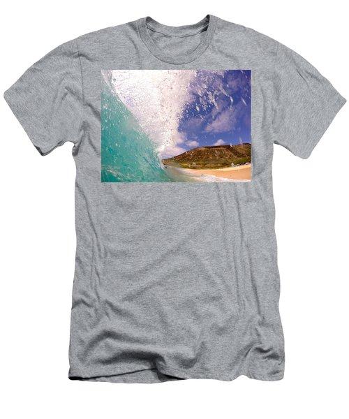 Huge Sandys Flare  Men's T-Shirt (Athletic Fit)