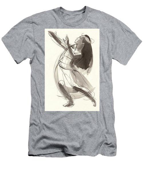 Hula Mahealani Men's T-Shirt (Athletic Fit)