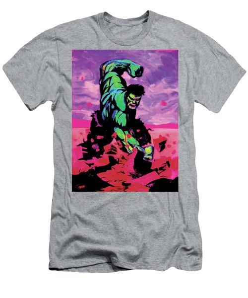 Hulk Smash Men's T-Shirt (Athletic Fit)