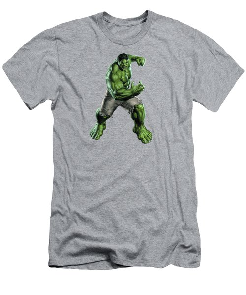 Hulk Splash Super Hero Series Men's T-Shirt (Athletic Fit)