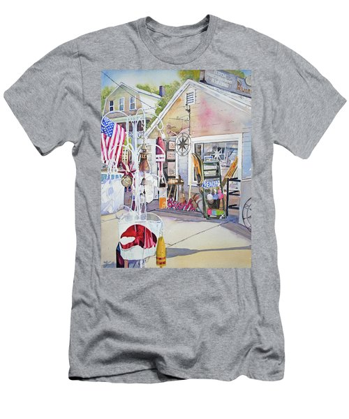 Hull Of A Shoppe Men's T-Shirt (Slim Fit) by P Anthony Visco