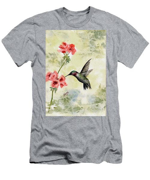 Hummingbird Men's T-Shirt (Slim Fit) by Sam Sidders