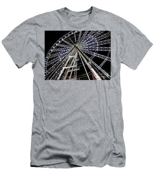 Hungarian Wheel Men's T-Shirt (Athletic Fit)