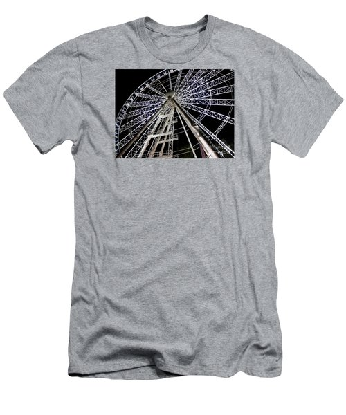 Hungarian Wheel Men's T-Shirt (Athletic Fit)