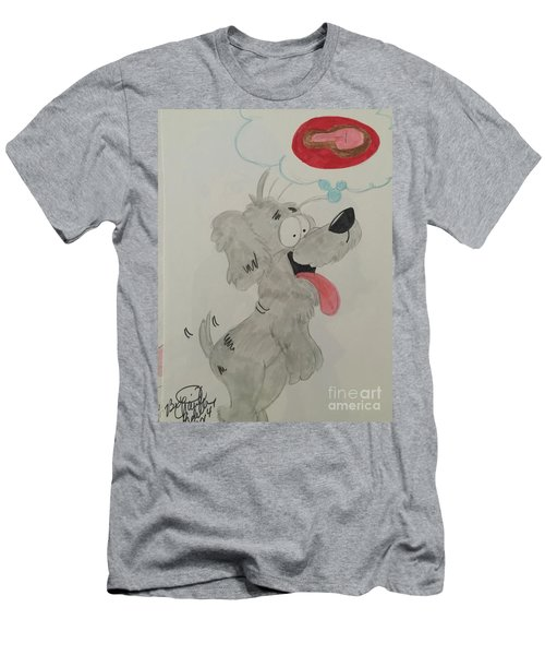 Hungry Dog Men's T-Shirt (Athletic Fit)