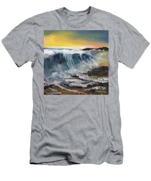 Hunter's Moon Men's T-Shirt (Slim Fit) by Randy Sprout