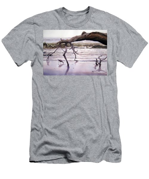 Hunting Island Sculpture Men's T-Shirt (Athletic Fit)