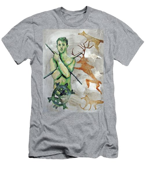 Youth Hunting Turtles Men's T-Shirt (Athletic Fit)