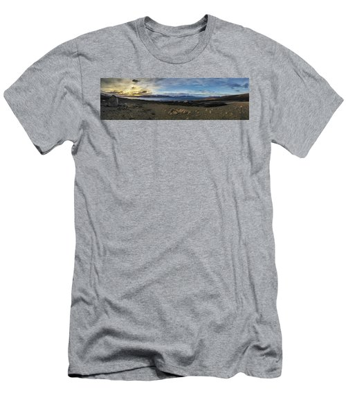 Hvalfjorour Panorama Men's T-Shirt (Athletic Fit)