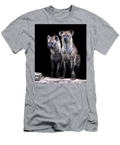 Hyena Lookout Men's T-Shirt (Athletic Fit)