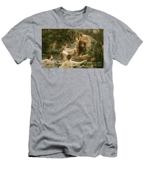 Hylas And The Water Nymphs Men's T-Shirt (Athletic Fit)
