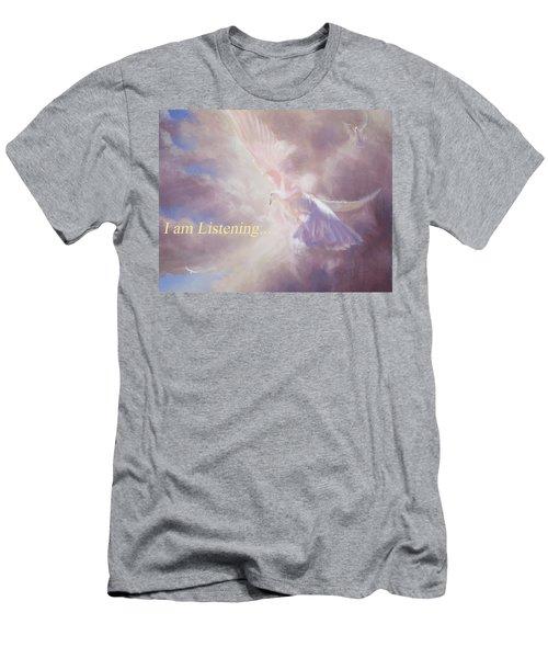 I Am Listening Men's T-Shirt (Athletic Fit)