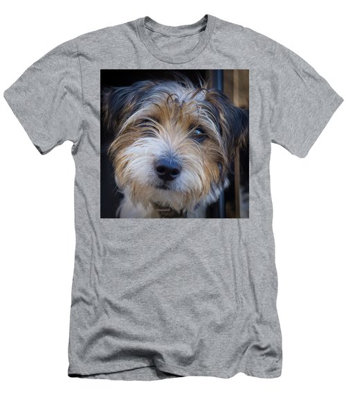 I Can See You Men's T-Shirt (Slim Fit) by Doug Harman