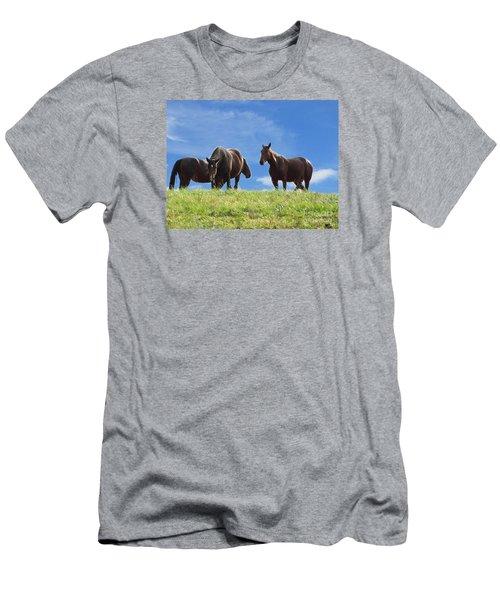 I Have A Friend Men's T-Shirt (Athletic Fit)