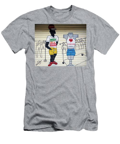 I Heart Barcelona Men's T-Shirt (Athletic Fit)