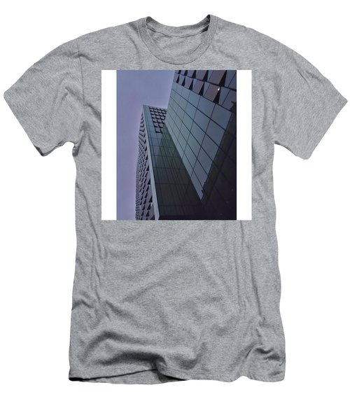 I Love All The Glass Buildings Around Men's T-Shirt (Athletic Fit)