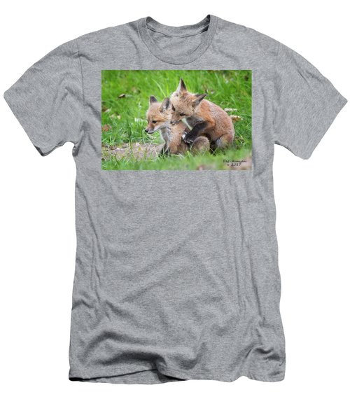I Wuv You  Men's T-Shirt (Athletic Fit)