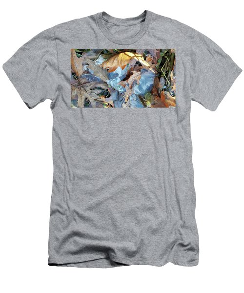 Ice And Fallen Leaves Men's T-Shirt (Athletic Fit)