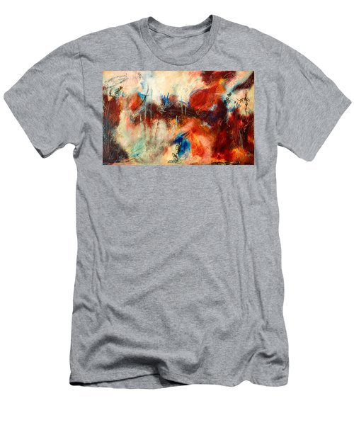 Ice Cream From Ear To Ear Men's T-Shirt (Slim Fit) by Tracy Bonin