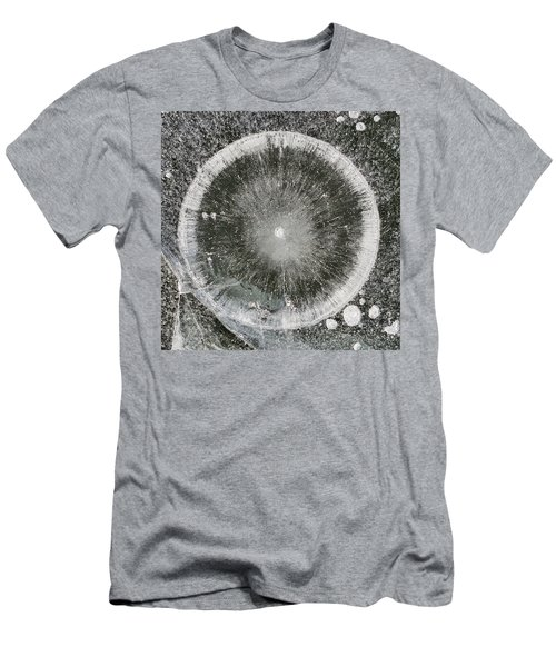 Ice Fishing Hole Xxvi Men's T-Shirt (Athletic Fit)