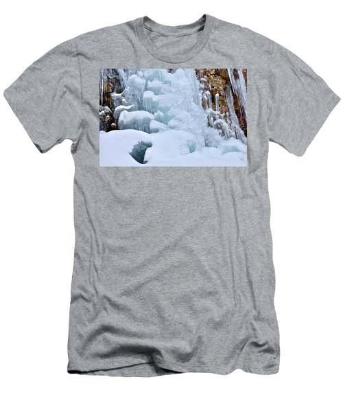 Ice Mosaic Men's T-Shirt (Athletic Fit)