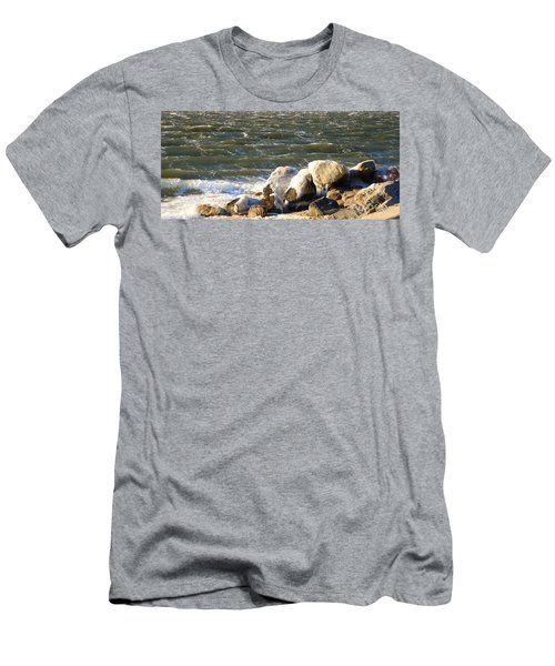 Ice On The Rocks Men's T-Shirt (Athletic Fit)