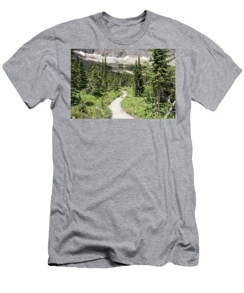 Iceberg Lake Trail Forest Men's T-Shirt (Athletic Fit)