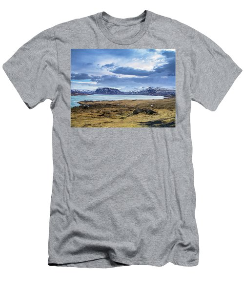 Icelandic Blues Men's T-Shirt (Athletic Fit)