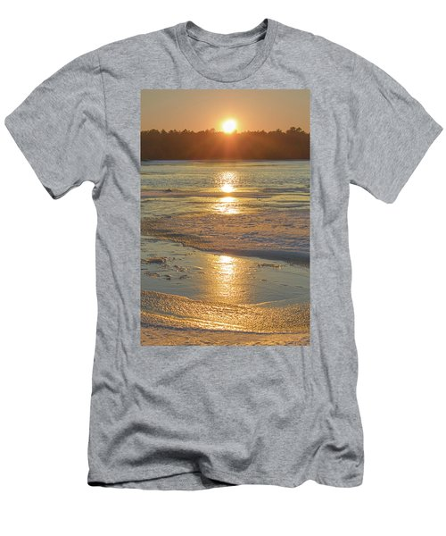 Icy Sunset Men's T-Shirt (Athletic Fit)