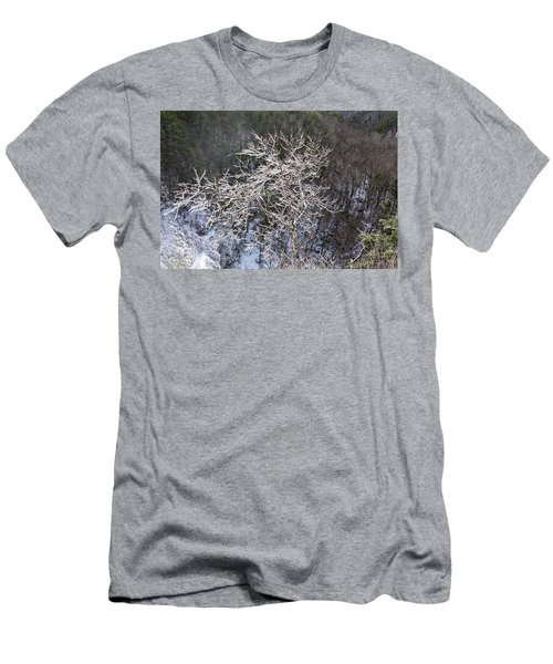Ice Tree Sentinel Men's T-Shirt (Athletic Fit)
