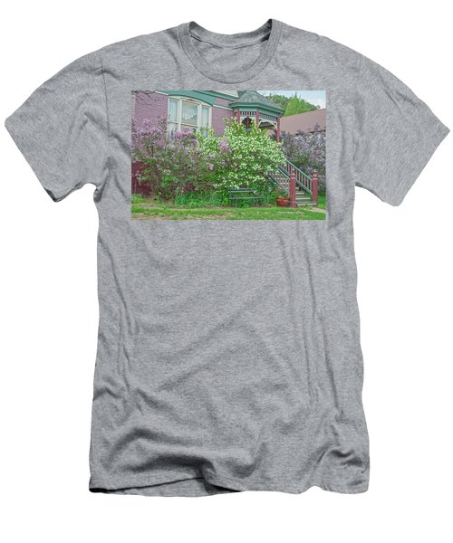 Idaho Springs, Colorado, The Site Of The First Gold Discovery In Our State In 1859 Men's T-Shirt (Athletic Fit)