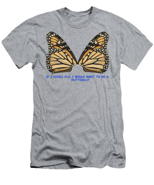 If I Could Fly Men's T-Shirt (Slim Fit) by Thomas Young