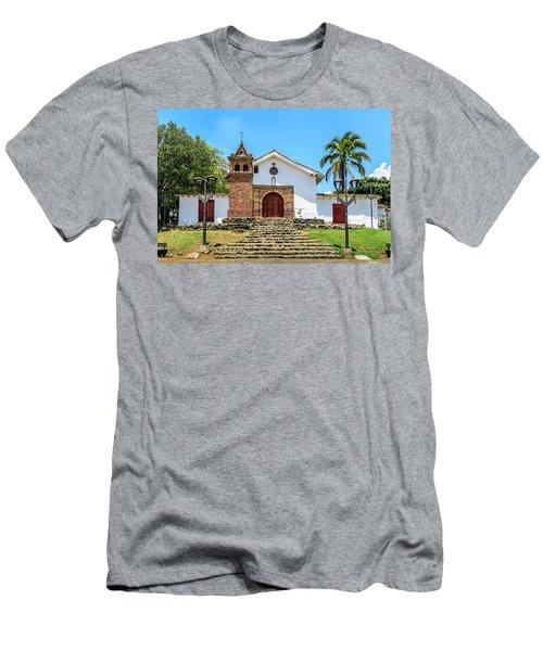 Iglesia De San Antonio Men's T-Shirt (Athletic Fit)