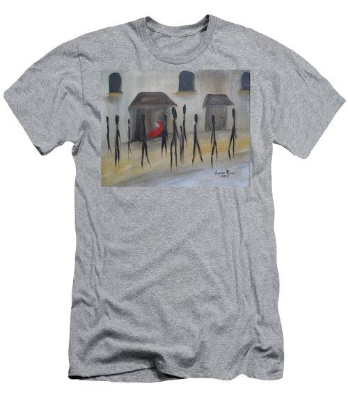 Ignoring The Homeless Men's T-Shirt (Athletic Fit)