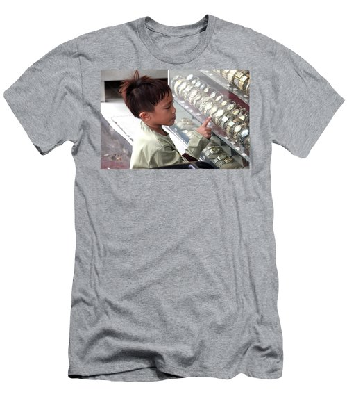 I'll Have The Rolex Men's T-Shirt (Slim Fit) by Jez C Self