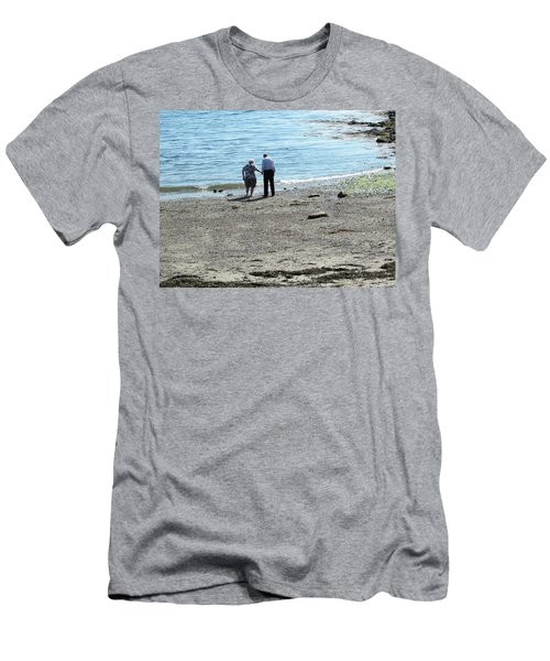 I'll Hold Your Hand  Men's T-Shirt (Slim Fit)