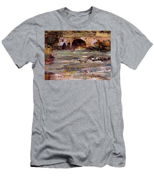 Imaginary Travel Men's T-Shirt (Slim Fit) by Nancy Kane Chapman