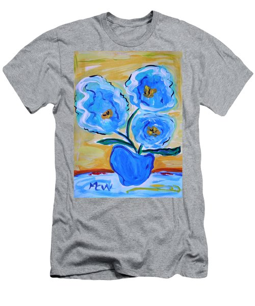 Imagine In Blue Men's T-Shirt (Athletic Fit)