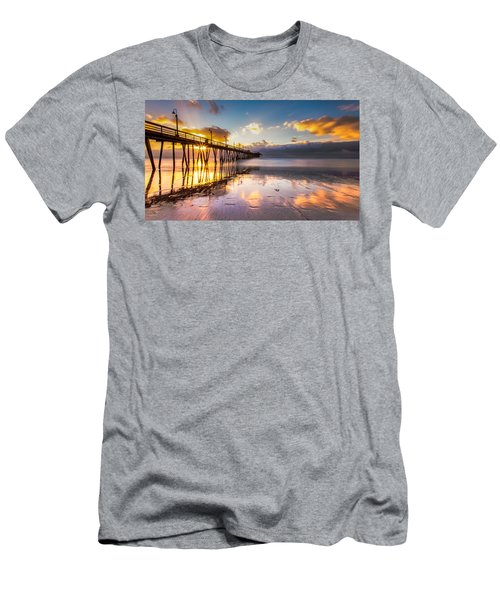Men's T-Shirt (Slim Fit) featuring the photograph Imperial Burst by Ryan Weddle