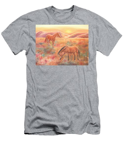 Impressions At Sunset Men's T-Shirt (Athletic Fit)