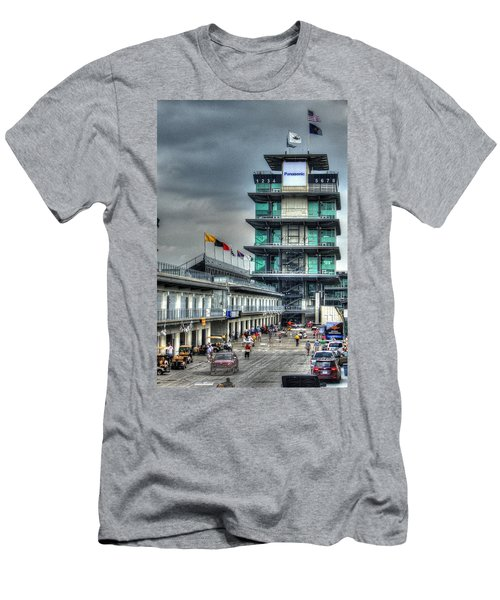 Ims Pagoda Men's T-Shirt (Athletic Fit)
