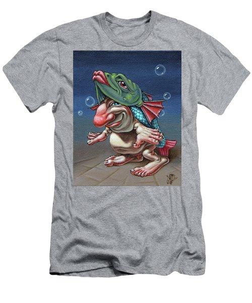 In A Fish Suit. Men's T-Shirt (Athletic Fit)