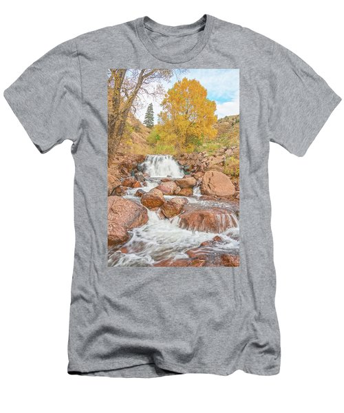 In Every Walk With Nature, One Receives Far More Than He Seeks, Wrote John Muir.  Men's T-Shirt (Athletic Fit)