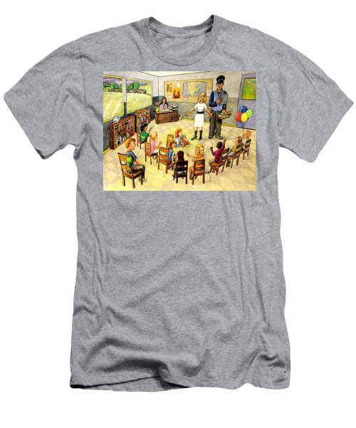 In The Classroom Men's T-Shirt (Athletic Fit)